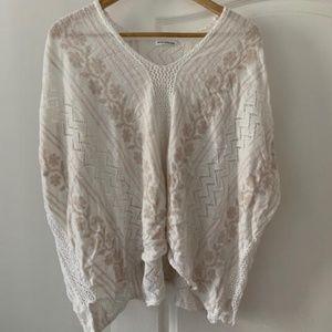 Club Monaco Beach Crochet Knit Cover-Up
